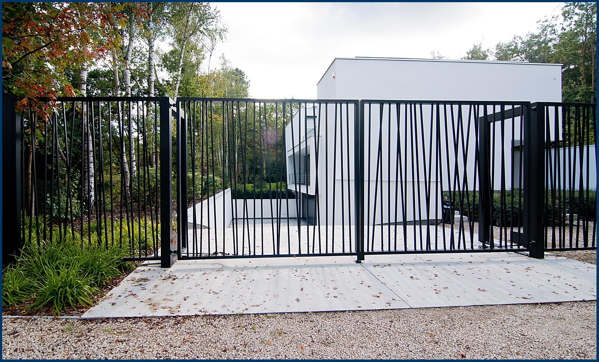 Metalen poorten limburg herco - Ijzer terras ...