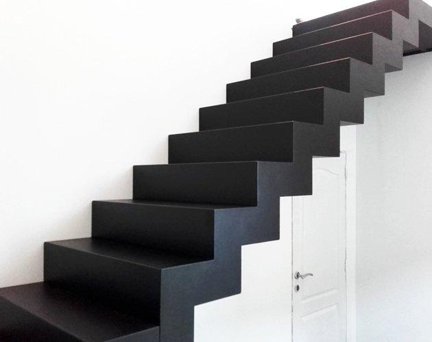 Trappen trap laten maken herco limburg for Nieuwe trap laten plaatsen