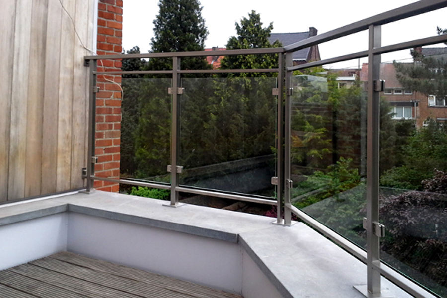 Balustrades balustrade laten maken herco limburg for Balustrade aluminium exterieur